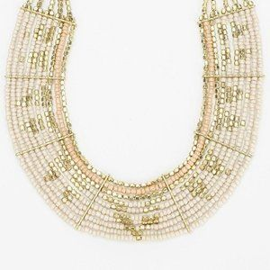 Urban Outfitters Beaded Bib Necklace
